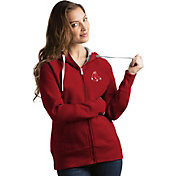 Antigua Women's Boston Red Sox Red Victory Full-Zip Hoodie
