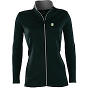 Antigua Women's Oakland Athletics Leader Black Full-Zip Jacket