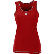 Antigua Women's Houston Astros Patriotic Logo Red Sport Tank Top