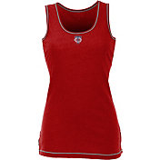 Antigua Women's Minnesota Twins Patriotic Logo Red Sport Tank Top