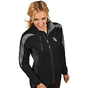 Antigua Women's Chicago White Sox Full-Zip Black Discover Jacket