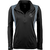Antigua Women's Chicago White Sox Delta Black Quarter-Zip Pullover