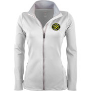 Antigua Women's Columbus Crew White Leader Full-Zip Jacket