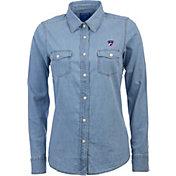 Antigua Women's FC Dallas Chambray Long-Sleeve Shirt