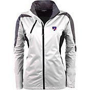 Antigua Women's FC Dallas White Discover Full-Zip Jacket