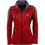 Antigua Women's FC Dallas Red Discover Full-Zip Jacket