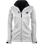Antigua Women's FC Dallas Traverse White Soft-Shell Full-Zip Jacket