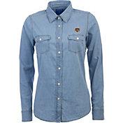 Antigua Women's Houston Dynamo Chambray Long-Sleeve Shirt
