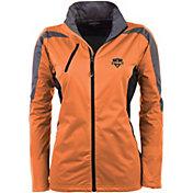 Antigua Women's Houston Dynamo Orange Discover Full-Zip Jacket