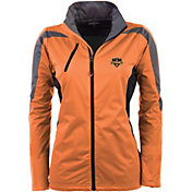 Antigua Women's Houston Dynamo Orange Discover Full-Zip Jacket