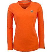 Antigua Women's Houston Dynamo Flip Orange Shirt