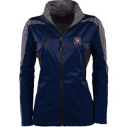 Antigua Women's Chicago Fire Navy Discover Full-Zip Jacket