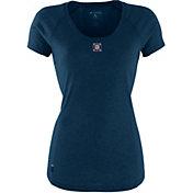 Antigua Women's Chicago Fire Pep Navy T-Shirt
