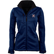 Antigua Women's Chicago Fire Traverse Navy Soft-Shell Full-Zip Jacket