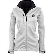 Antigua Women's Chicago Fire Traverse White Soft-Shell Full-Zip Jacket