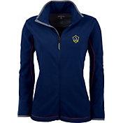 Antigua Women's Los Angeles Galaxy Navy Ice Full-Zip Fleece Jacket