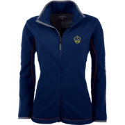 Antigua Women's Los Angeles Galaxy Navy Ice Full-Zip Fleece Jacket