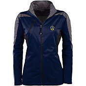 Antigua Women's Los Angeles Galaxy Navy Discover Full-Zip Jacket