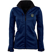 Antigua Women's Los Angeles Galaxy Traverse Navy Soft-Shell Full-Zip Jacket