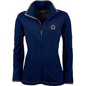 Antigua Women's Philadelphia Union Navy Ice Full-Zip Fleece Jacket