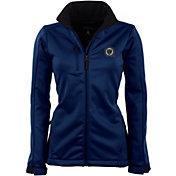 Antigua Women's Philadelphia Union Traverse Navy Soft-Shell Full-Zip Jacket