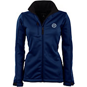 Antigua Women's New York City FC Traverse Navy Soft-Shell Full-Zip Jacket