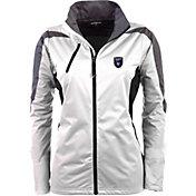 Antigua Women's San Jose Earthquakes White Discover Full-Zip Jacket