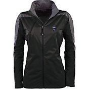 Antigua Women's San Jose Earthquakes Black Discover Full-Zip Jacket