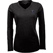 Antigua Women's San Jose Earthquakes Flip Black Shirt