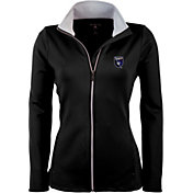 Antigua Women's San Jose Earthquakes Black Leader Full-Zip Jacket
