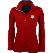 Antigua Women's New York Red Bulls Red Ice Full-Zip Fleece Jacket