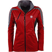 Antigua Women's New York Red Bulls Red Discover Full-Zip Jacket