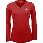 Antigua Women's New York Red Bulls Flip Red Shirt
