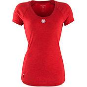 Antigua Women's New York Red Bulls Pep Red T-Shirt