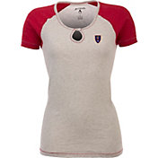 Antigua Women's Real Salt Lake Crush Grey/Red T-Shirt