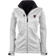 Antigua Women's Real Salt Lake Traverse White Soft-Shell Full-Zip Jacket