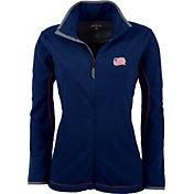 Antigua Women's New England Revolution Navy Ice Full-Zip Fleece Jacket