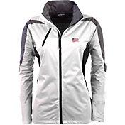 Antigua Women's New England Revolution White Discover Full-Zip Jacket
