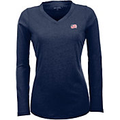 Antigua Women's New England Revolution Flip Navy Shirt