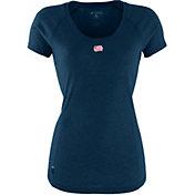 Antigua Women's New England Revolution Pep Navy T-Shirt