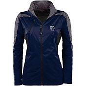 Antigua Women's Sporting Kansas City Navy Discover Full-Zip Jacket