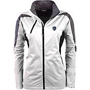 Antigua Women's Sporting Kansas City White Discover Full-Zip Jacket