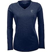 Antigua Women's Sporting Kansas City Flip Navy Shirt