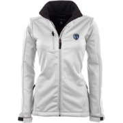 Antigua Women's Sporting Kansas City Traverse White Soft-Shell Full-Zip Jacket