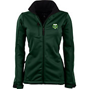 Antigua Women's Portland Timbers Traverse Hunter Green Soft-Shell Full-Zip Jacket