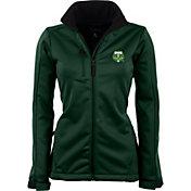 Antigua Women's Portland Timbers Traverse Hunter Green Soft-Shell Full-Zip Jacket