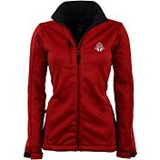 Antigua Women's Toronto FC Traverse Red Soft-Shell Full-Zip Jacket