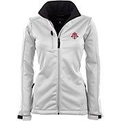 Antigua Women's Toronto FC Traverse White Soft-Shell Full-Zip Jacket