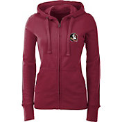 Antigua Women's Florida State Seminoles Garnet Full-Zip Hoodie