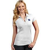 Antigua Women's Kentucky Wildcats White Spark Polo